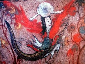 English: Nüwa from Gaogouli tomb mural. Nüwa i...