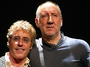 Roger Daltrey and Pete Townshend, Philadelphia...