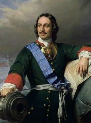 Peter the Great, portrait by Paul Delaroche