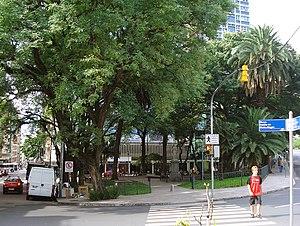 Praça Conde de Porto Alegre, Porto Alegre, Brasil