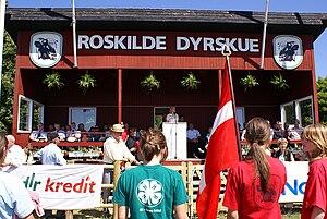 Agricultural show in Roskilde, Denmark. Openin...