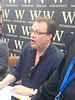 Russell T Davies at a book signing in Watersto...