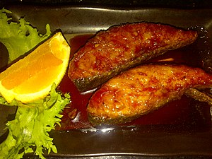 English: Salmon Teriyaki - Sushi Tengu (Seattl...