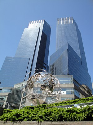 English: The Time Warner Center as viewed from...