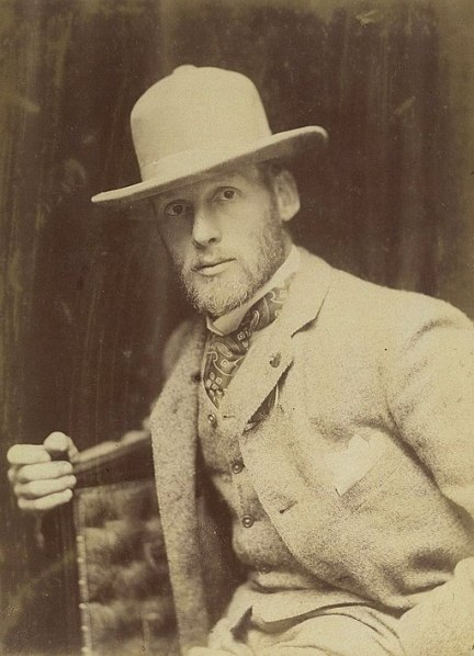 Tom Roberts, Australian artist, ca. 1895 photographer Talma Studio (4668257926)