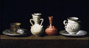 Francisco de Zurbarán, Bodegón or Still Life w...