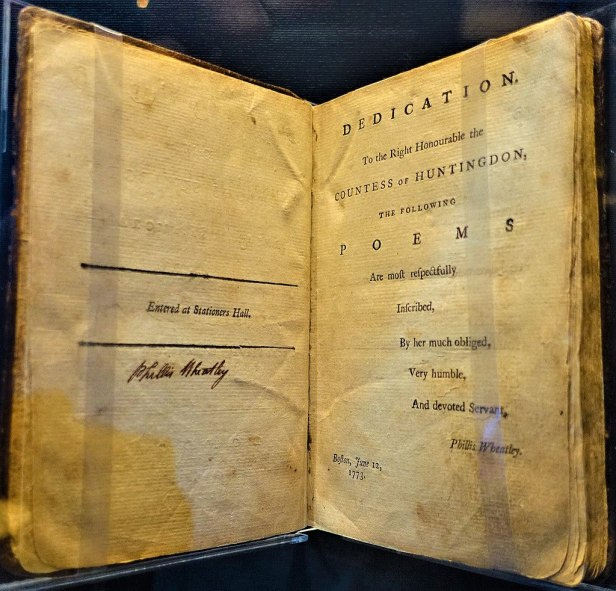 """""""Poems on Various Subjects, Religious and Moral"""" by Phillis Wheatley - by Joy of Museums"""