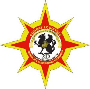 English: logo for 2nd Marine Logistics Group C...