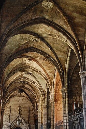 Claustro, Catedral de Santa Eulalia de Barcelona