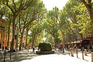 Cours Mirabeau, Aix-en-Provence