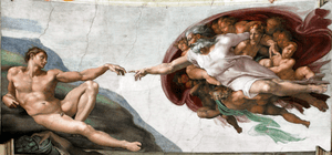Michelangelo's The Creation of Adam (1512) is ...
