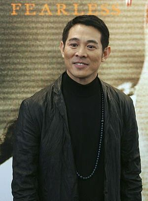 English: Jet Li at Fearless Premiere taken myself