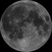 चन्द्रमा का पृथ्वी की ओर का भाग