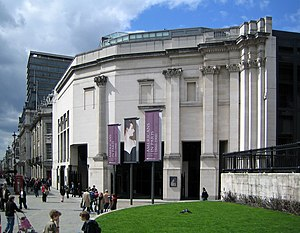 The Sainsbury wing of the National Gallery, Lo...