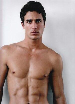 English: Ognjen Kecman, American male model