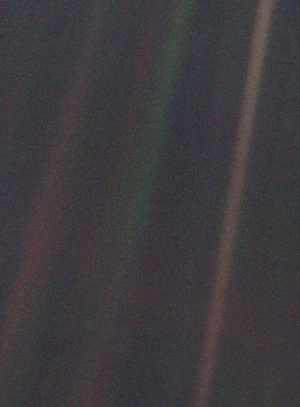 Seen from 6 billion kilometres (3.7 billion mi...