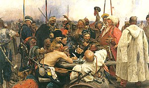 Reply of the Zaporozhian Cossacks to Sultan Me...