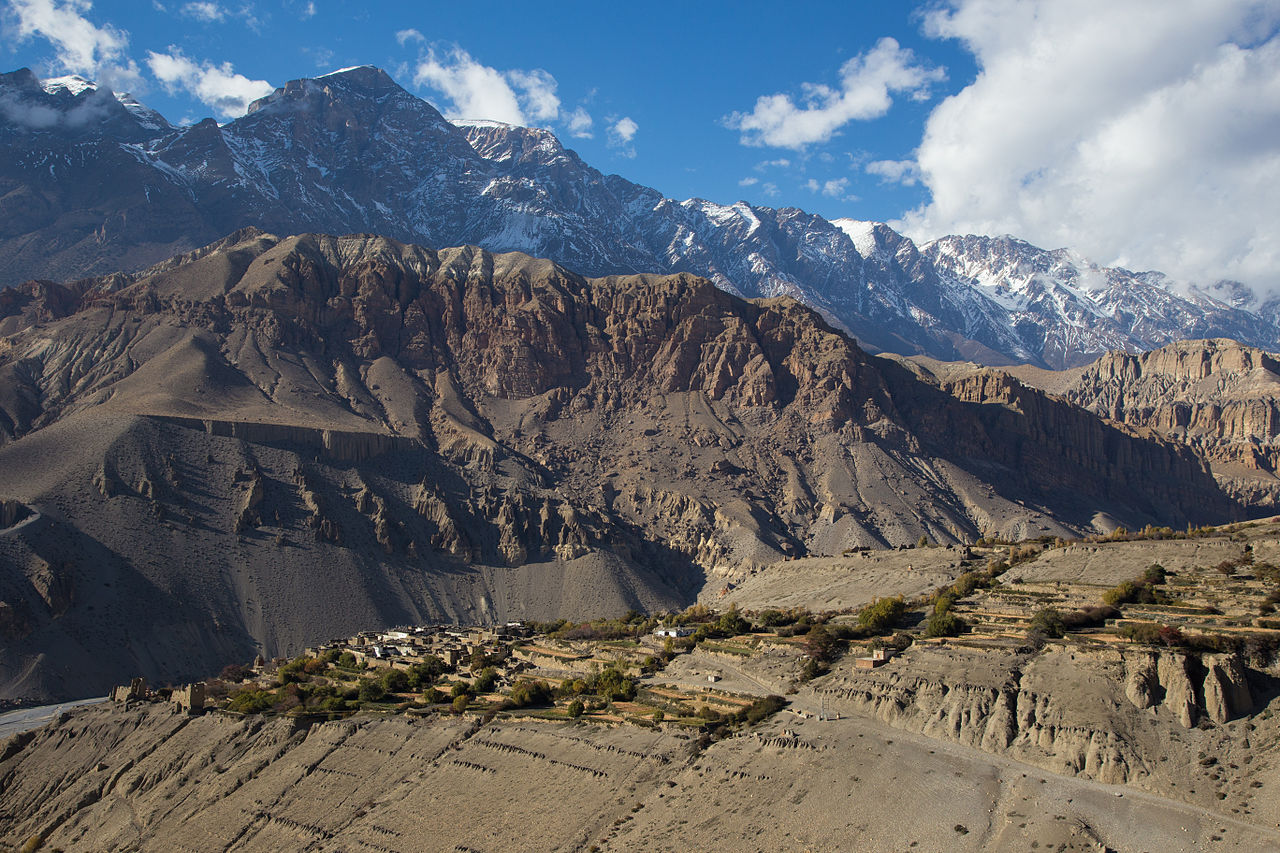 File Tangbe Upper Mustang Jpg Wikimedia Commons