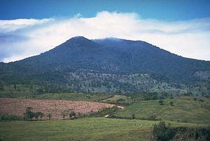 Tenorio volcanic complex in Costa Rica