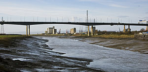M5 motorway bridge, Avonmouth, Bristol.