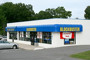 Blockbuster outlet at 3438 Hillsborough Road i...