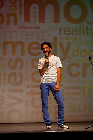 English: Saudi comedian Fahad Albutairi prefor...