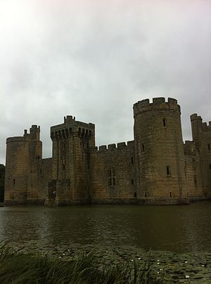 Bodiam and moat