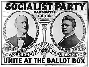 Campaign poster from the 1912 Presidential cam...