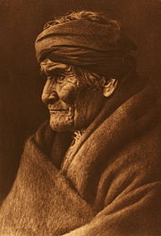 Portrait of Geronimo by Edward S. Curtis, 1905.