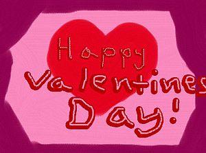 A valentine's greeting; I permit any Wiki-rela...