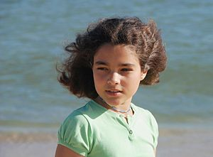 English: Portrait of a girl from Portugal