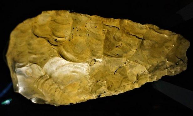 Great Handaxe from Furze Platt - Natural History Museum, London - Joy of Museums