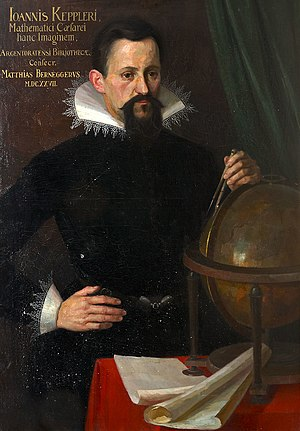 English: Portrait of Johannes Kepler.