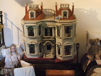 Doll house at The Museum of Lincolnshire Life,...