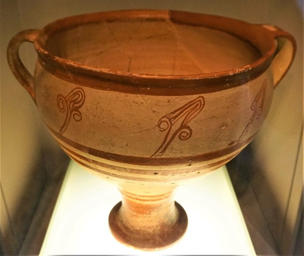 Mycenaean Krater - Museum of Cycladic Art, Athens - Joy of Museums