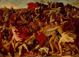The Victory of Joshua over the Amalekites