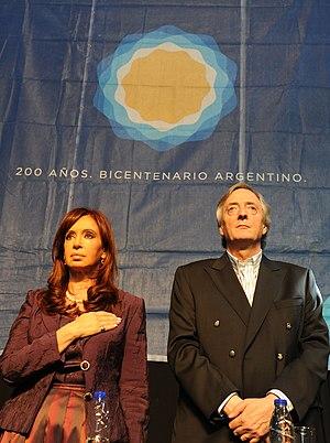 Español: Cristina Fernández de Kirchner, acto ...
