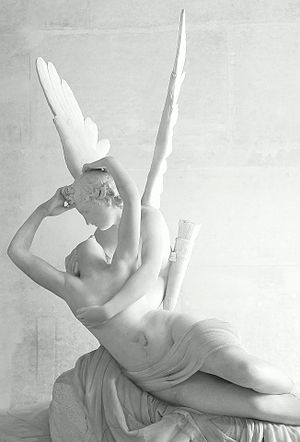 Psyche Revived by Love's Kiss, a neoclassical ...