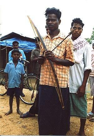 Salwa Judum soldiers in Chhattisagrh