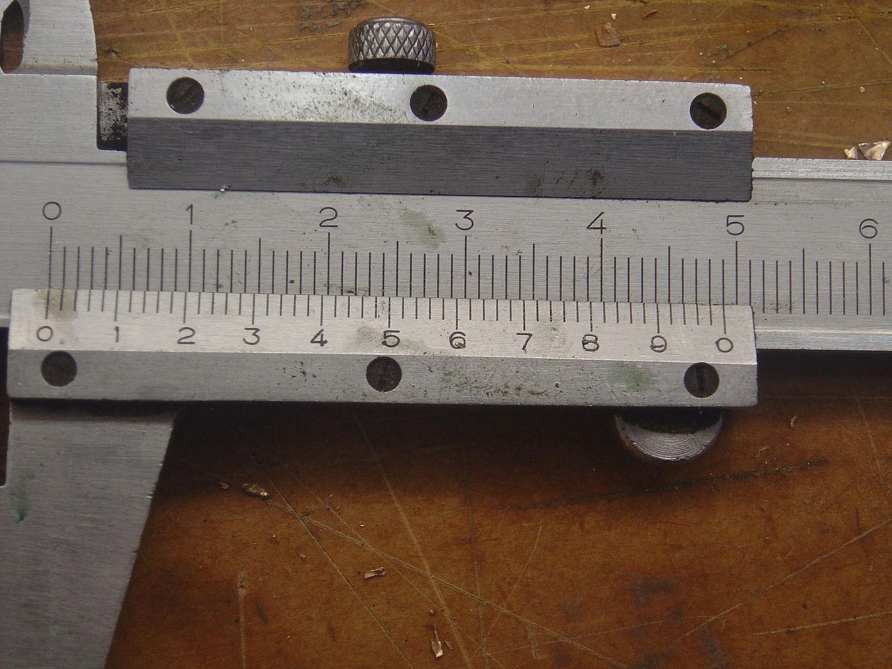 File Scale On Vernier Caliper Dsc