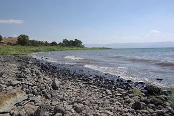 Sea of Galilee near Tabgha