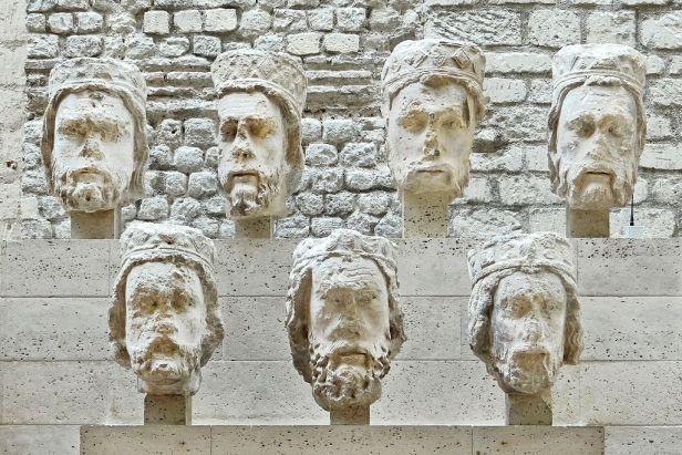 Heads of the Kings of Judah from Notre-Dame de Paris