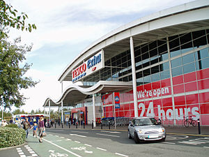 This is an image of the Tesco store at Kingsto...