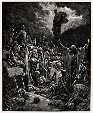 English: Scan of a Gustave Doré engraving &quo...