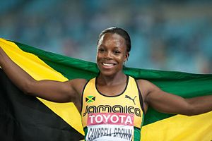 English: Veronica Campbell during 2011 World c...