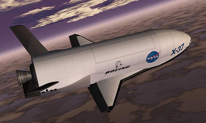 File:X-37 spacecraft, artist's rendition.jpeg