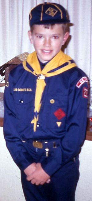 English: Cub Scout in uniform
