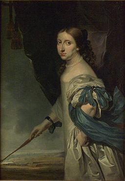 Drottning Kristina (1661) av Abraham Wuchters
