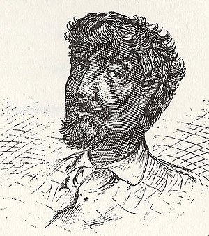 English: Jean Baptiste Point du Sable. There a...