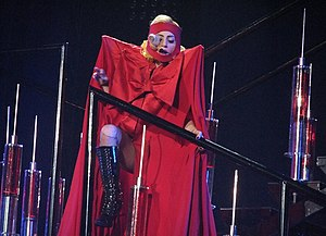 "English: Lady Gaga performing ""The Fame&q..."